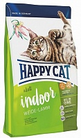 Корм с ягненком для домашних кошек, на развес, Happy Cat (Хэппи Кэт) Adult Indoor Weide-Lamm