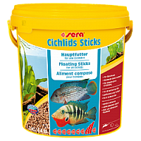 Корм для цихлид Cichlids Sticks 10 л (ведро), Sera