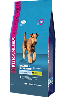 Сухой корм для пожилых собак крупных пород, Eukanuba Dog Senior Large Breed